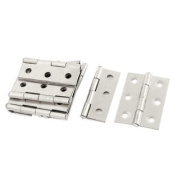 10pcs 45mm x 31mm Stainless Steel Wardrobe Cupboard Cabinet Door Hinges