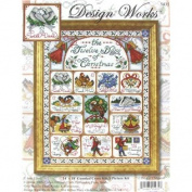Twelve Days of Christmas Counted Cross Stitch Kit