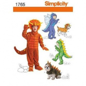 Simplicity 1765 Child's Separates Daisy Kingdom Sewing Pattern, Size A