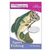 Anita Goodesign ~ Sport Fishing ~ Embroidery Designs CD