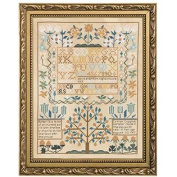 BUCILLA 45960 Smithsonian Sampler Counted Cross Stitch Kit, 30cm by 39cm