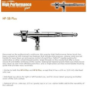 IWATA High Performance HP-SB PLUS AIRBRUSH w/FREE HOSE!
