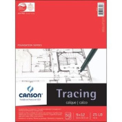 Pro-Art 23cm by 30cm Canson Tracing Paper Pad, 50-Sheet