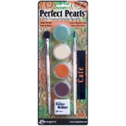 Ranger Perfect Pearls Pigment Kit, Cafe