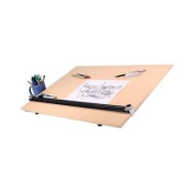 Pro Draught PEB Wood Grain Drawing Table Kit Size