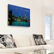 Fathead 69-00626 New York City Twin Towers Nightscape Canvas