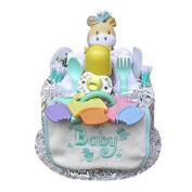 Babygiftidea 1 Tier Neutral Nappy Cake - 1206-DCAKEN1W