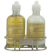 Lemon Verbena Hand & Body Duo with Nikel Plated Caddy
