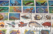 Motives 50 different Fish stamps