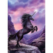 (Price/pack)AN35 Greeting the Dawn Unicorn Card - 6 Pack