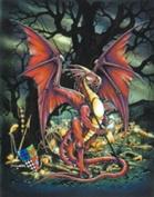 (Price/pack)Treasure Dragon Card