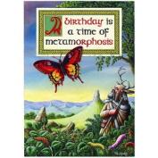(Price/Pack)Birthday Metamorphosis Card