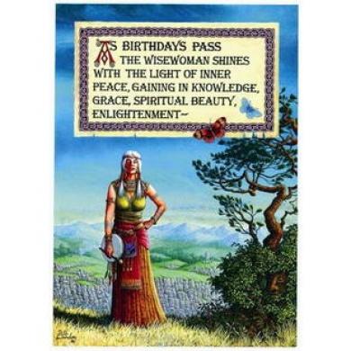 (Price/Pack)Enlightening Birthday Card