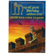 (Price/Pack)Birthday Ambitions Card