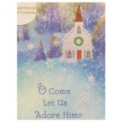 Dayspring Come Let Us Adore Him Christian Christmas Cards