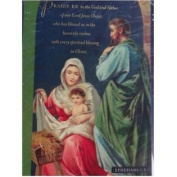 Dayspring Baby Jesus Mary & Joseph Holy Family Christian Christmas Cards
