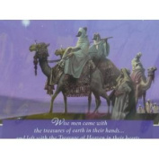Dayspring Purple Wise Men Came With Treasures Christian Christmas Cards
