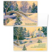 Snowy Footbridge Non-Card Set of 20