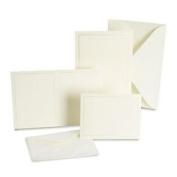 (Price/package)Gartner Studios 61007 Pearl Ivory Border Wedding Invitation Kit
