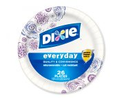 Dixie Everyday 26cm Paper Plates, 26 Ct