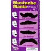 Moustache Mania~Self-Adhesive~4 Moustaches