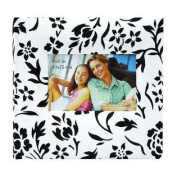 Fabric Flocked BookBound Album with Window Cover Holds 200 10cm x 15cm Photos 2-Up Colour