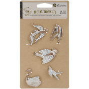 Prima Marketing Metal Patina Trinkets-Birds