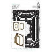 docrafts Xcut A5 Square Die Set Ornate Frames 326006 DOCrafts