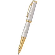 Cross Year of the Monkey Rollerball Pen Brushed Platinum