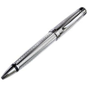 Xezo Layered Ballpoint Pen, Diamond-Cut Engraved, Limited Edition 250 Pieces
