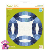 GO! Big 32cm Double Wedding Ring Fabric Cutting Die