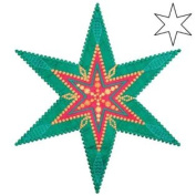 AccuQuilt GO! Star 23cm 6-Point by Sarah Vedeler