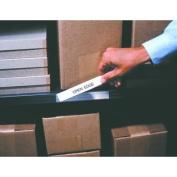 (Price/pack)Open Edge OE3005 Label Holder, Economy Strip, 7.6cm x 13cm , Clear
