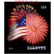 US Star Spangled Banner roll of 100 Forever USPS Postage Stamps First Class Mail