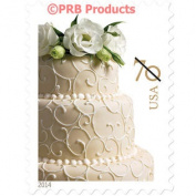 Wedding Cake 70¢ cent USPS Postage Stamps Sheet of 20 Invitations Marriage 60ml