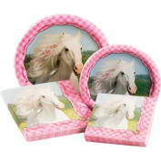 Heart My Horse Party Table Ware Kit