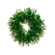 46cm Japanese Boxwood Wreath Green