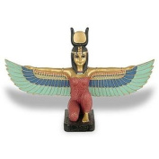 Ancient Treasures Isis Mother of all Gods Winged Egyptian Sculptues