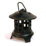 Sierra JTCI6618 Cast Iron Lantern, Black