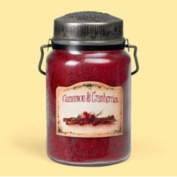 McCall's Country Candles - 770ml Cinnamon & Cranberries