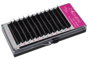 Alluring Silk Mink Eyelash Extensions Lashes - C Curl 3D lashes .07mm thickness