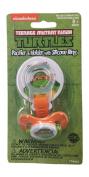 Nickelodeon Ninja Turtles Pacifier and Holder