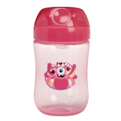 Dr. Brown's Soft-Spout Girls Toddler Cup, Pink, 270ml