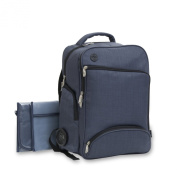 XLR8 Connect and Go Back Pack Nappy Bag - Navy