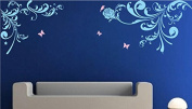 "Pop Decors ""Flower Vines"" Beautiful Wall Stickers for Kids Rooms"