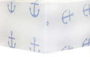 My Baby Sam First Mate Crib Sheet, Blue/Navy/Red/White, 2 Count