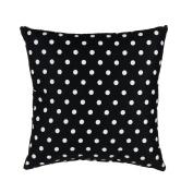 Glenna Jean Pippin Pillow, Black/White Dot