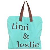 timi & leslie Schlep-it-All Tote, Aruba Turquoise