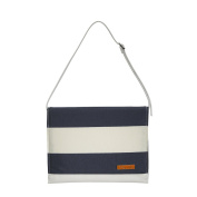 Foxy Vida Nappy Clutch, Navy Stripe