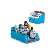 Step2 Thomas the Tank Engine Toddler Bed & Toy Box Bundle